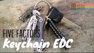 Key Chain EDC: 5 Factors to Focus Your Essential Carry - Leatherman, KeySmart, Prometheus Beta QR