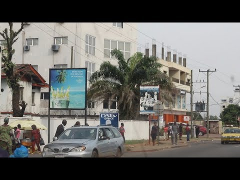 Driving through Monrovia, Liberia part 2 | December 2018 | S