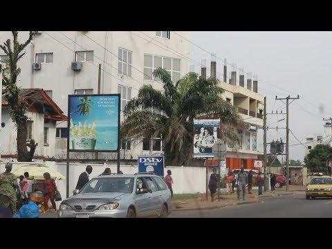 Driving through Monrovia, Liberia part 2 | December 2018 | SheaMoringaTV