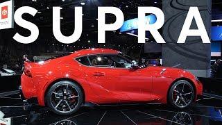 2019 Detroit Auto Show: 2020 Toyota Supra | Consumer Reports