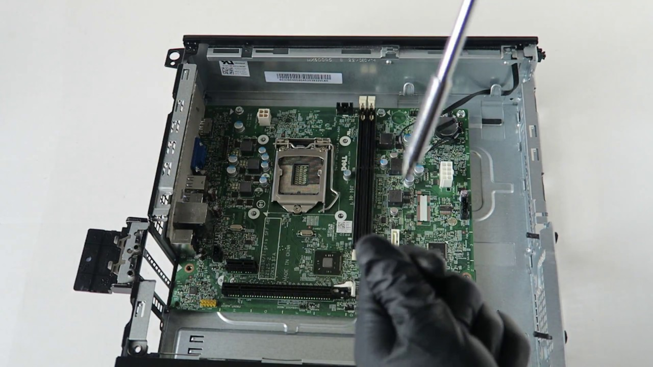 Dell Optiplex 3020 SFF Teardown (HD 1080P) - YouTube