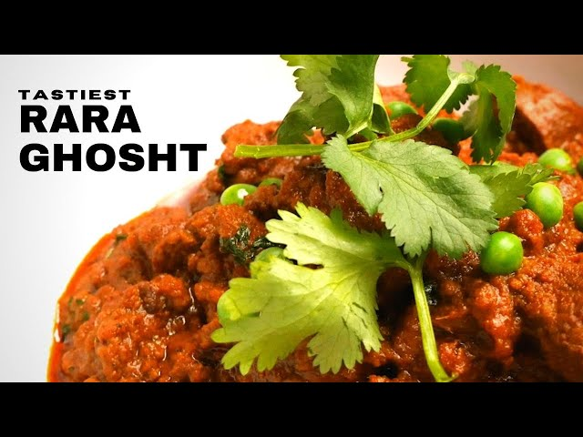 The tastiest Rara Ghosht you'll ever try (Hindi Special)