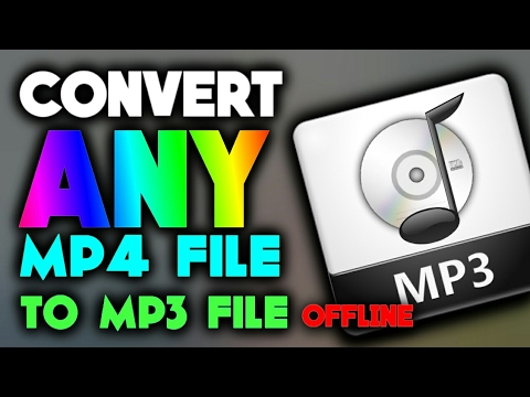 How To Convert Any Mp4 File To Mp3 File *Offline* On Android