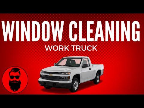 My Window Cleaning Work Truck Version 2.0