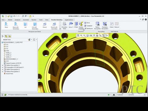 Introducing the Creo Flexible Modeling Extension - PTC