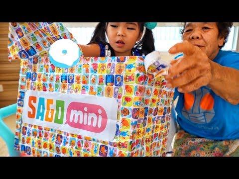 น้องถูกใจ | แกะของเล่นคุณยาย SAGO mini