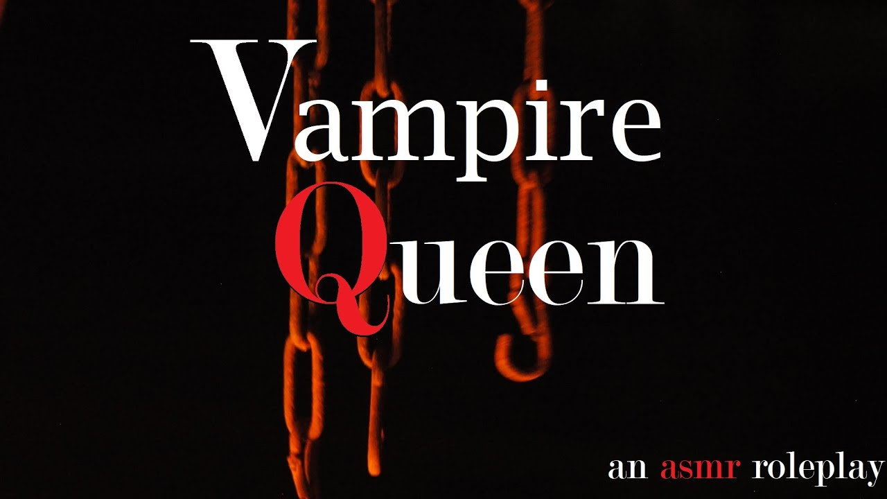 In Bed with the Vampire Queen ASMR Roleplay -- (Female x Listener) (Binaural) (Whispers) (Feeding)