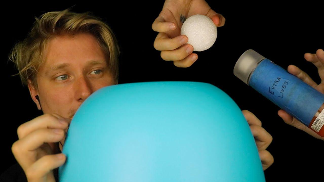 ASMR Old Triggers (Extra Lives, Blue Bowl, Styrofoam Balls)