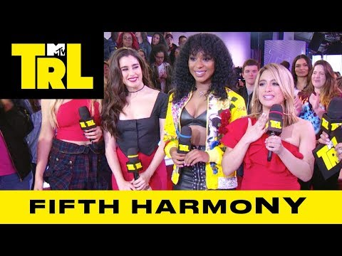 Fifth Harmony Talk Collabing w/ Pitbull & Touring | Weekdays at 3:30pm | #TRL