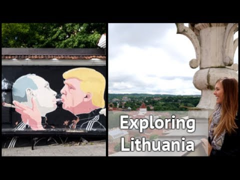 Exploring Lithuania | xameliax Travel Vlog