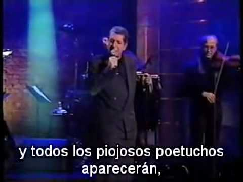 Leonard Cohen - The Future subtitulado