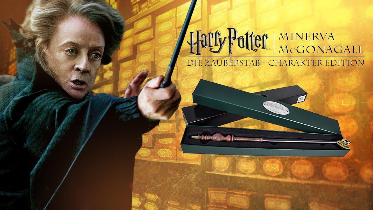 Harry Potter Zauberstäbe: Professor Minerva McGonagall   YouTube