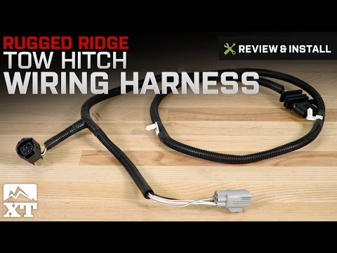 Jeep Wrangler Rugged Ridge Tow Hitch Wiring Harness (2007-2017 JK) Review & Install
