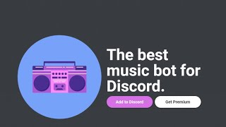 Poner musica en discord