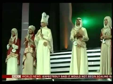 A beauty contest for Muslim women in Jakarta