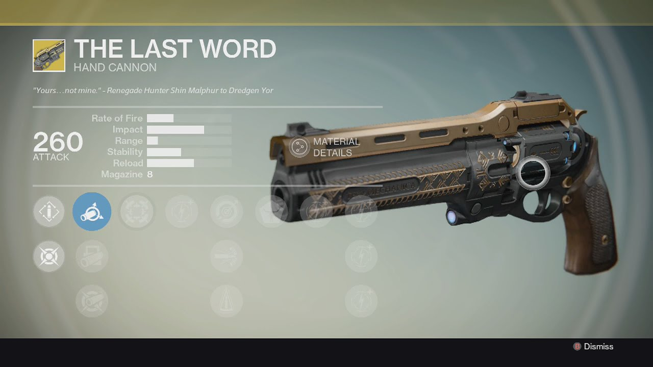 "DESTINY - Revolver Exotico ""The Last Word"" - YouTube"