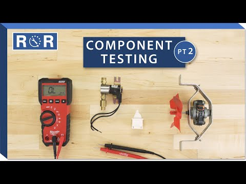 Appliance Component Testing - Part 2 | Repair And Replace