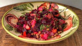 Классический Салат Винегрет | Рецепт | Знаем что готовить !