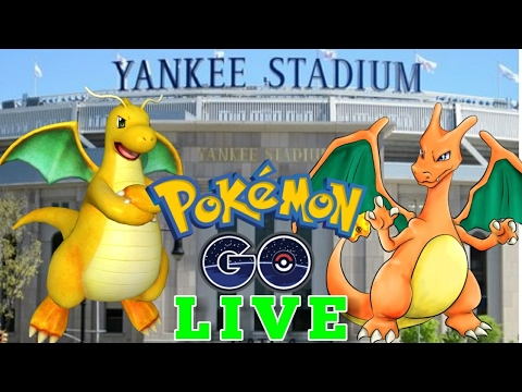 LIVE NOW 👊 Pokemon GO in MANHATTAN & BRONX🗽YANKEE STADIUM- NEW YORK CITY - ULTRA & RARE SPAWN HUNT