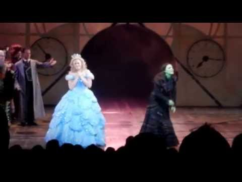 WICKED Curtain Call - July 30, 2016 - Rachel Tucker's & Jonah Platt's Last Show