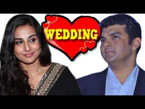 Vidya Balan to marry Siddharth Roy Kapoor in DECEMBER 2012