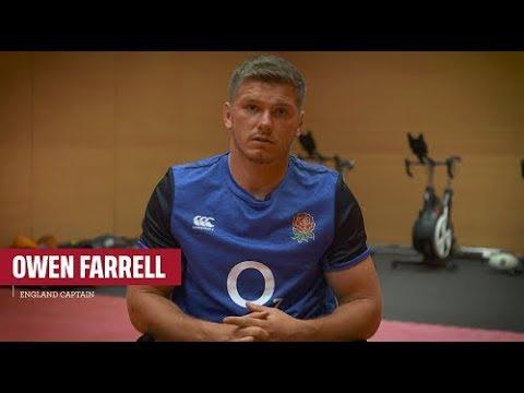 Owen Farrell previews England v Italy