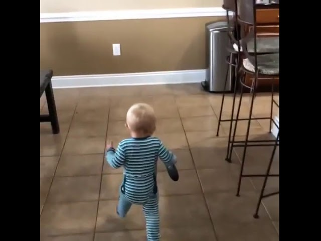 Parker was having a little trouble with the remote this morning… – 1004773