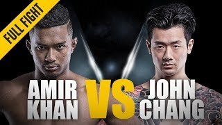 ONE: Full Fight | Amir Khan vs. John Chang | The Young Lion Roars | May 2016