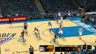 NBA 2K13 : Gaming Live Playoffs - Thunder vs Grizzlies (HD)