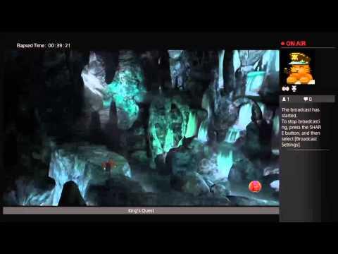 Higgy1231's Live PS4 Broadcast Kings Quest