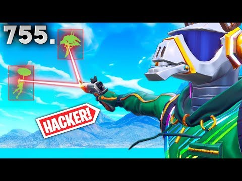 *NEW* OP HACKER EXPOSED!! - Fortnite Funny WTF Fails and Daily Best Moments Ep. 755