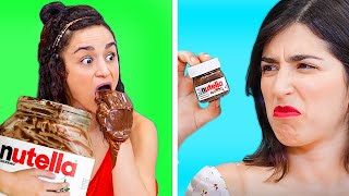 GIANT FOODS VS MINIATURE FOOD || Funny Food Challenges And Crazy DIY Pranks For Foodies!