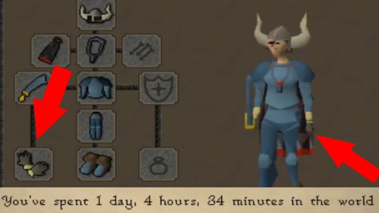 Important Information on obtaining Rune Gloves in OSRS