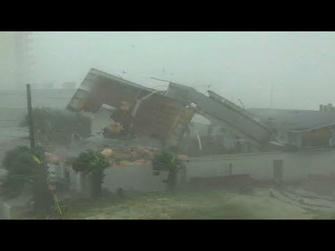 Incredibly Powerful Hurricane Elsa attacked Barbados and St. Vincent and the Grenadines