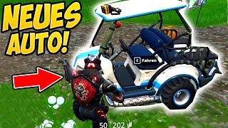 NEW AUTO TESTED *All-wheel drive carts* DRIFT! - Fortnite Battle Royale