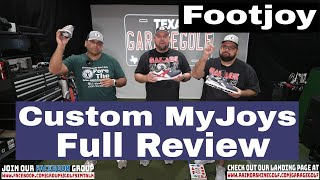 Garage Golf Custom Footjoy Experience Full Video Review and MyJoy Giveaway