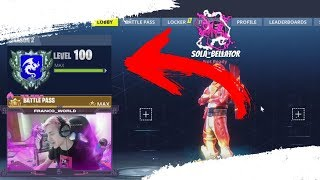*NEW* LEVEL 100 REWARDS IN FORTNITE BATTLE ROYALE! (Banner, Spray & Emoticon)