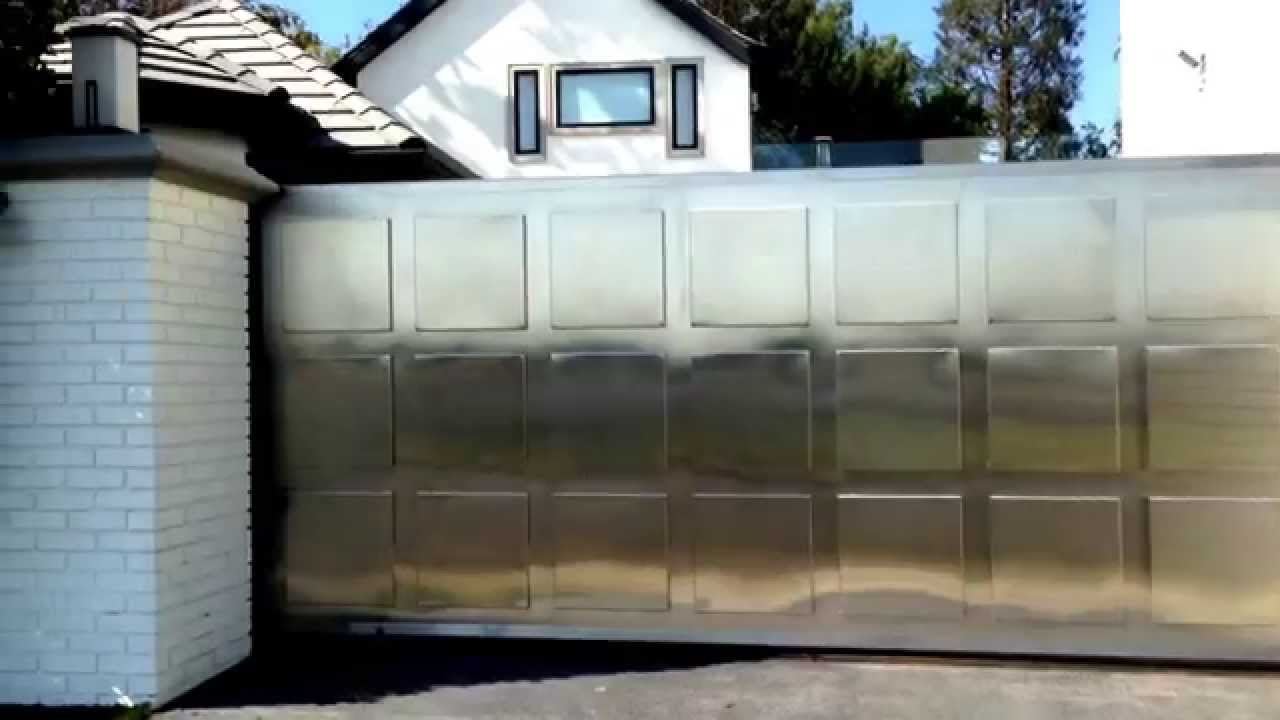 Contemporary Design Stainless Gate Youtube