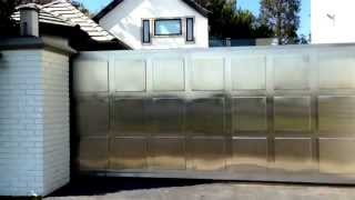 Contemporary Design Stainless Gate