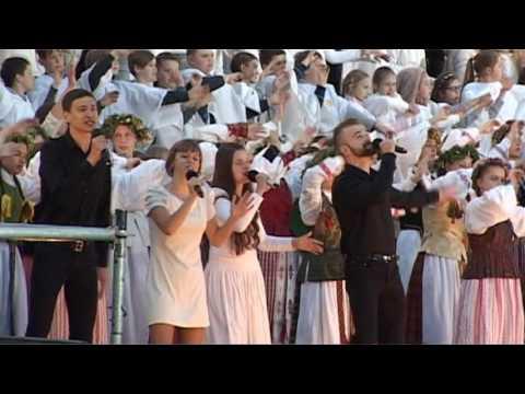 Kauno moksleivių Dainų šventės baigiamoji daina. 2017 06 03