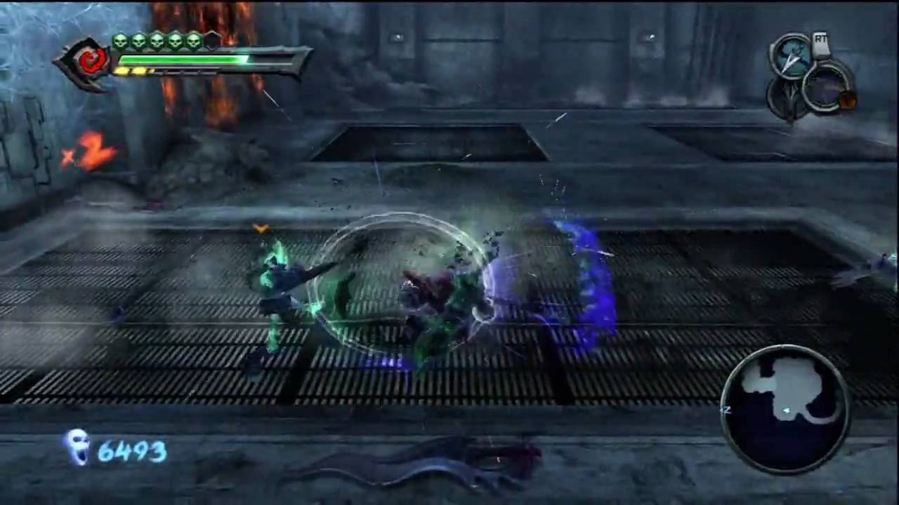 Darksiders Apocalyptic Difficulty - Iron Canopy Huge Spider Mini-boss | WikiGameGuides & Darksiders Apocalyptic Difficulty - Iron Canopy: Huge Spider Mini ...