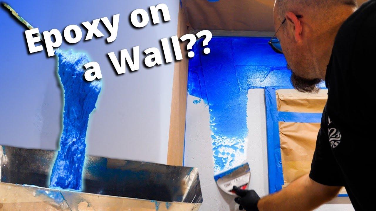 Vertical Wall Epoxy | Stone Coat Epoxy