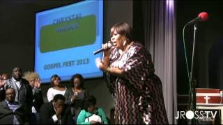 "James Ross @ (Gospel Singer) Chrystal Rucker - ""CHANGE"" - Live @ GABFAC - www.Jross-tv.com"