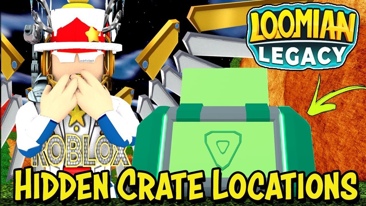 Hidden Crate Locations in Loomian Legacy (Roblox) - FREE ...