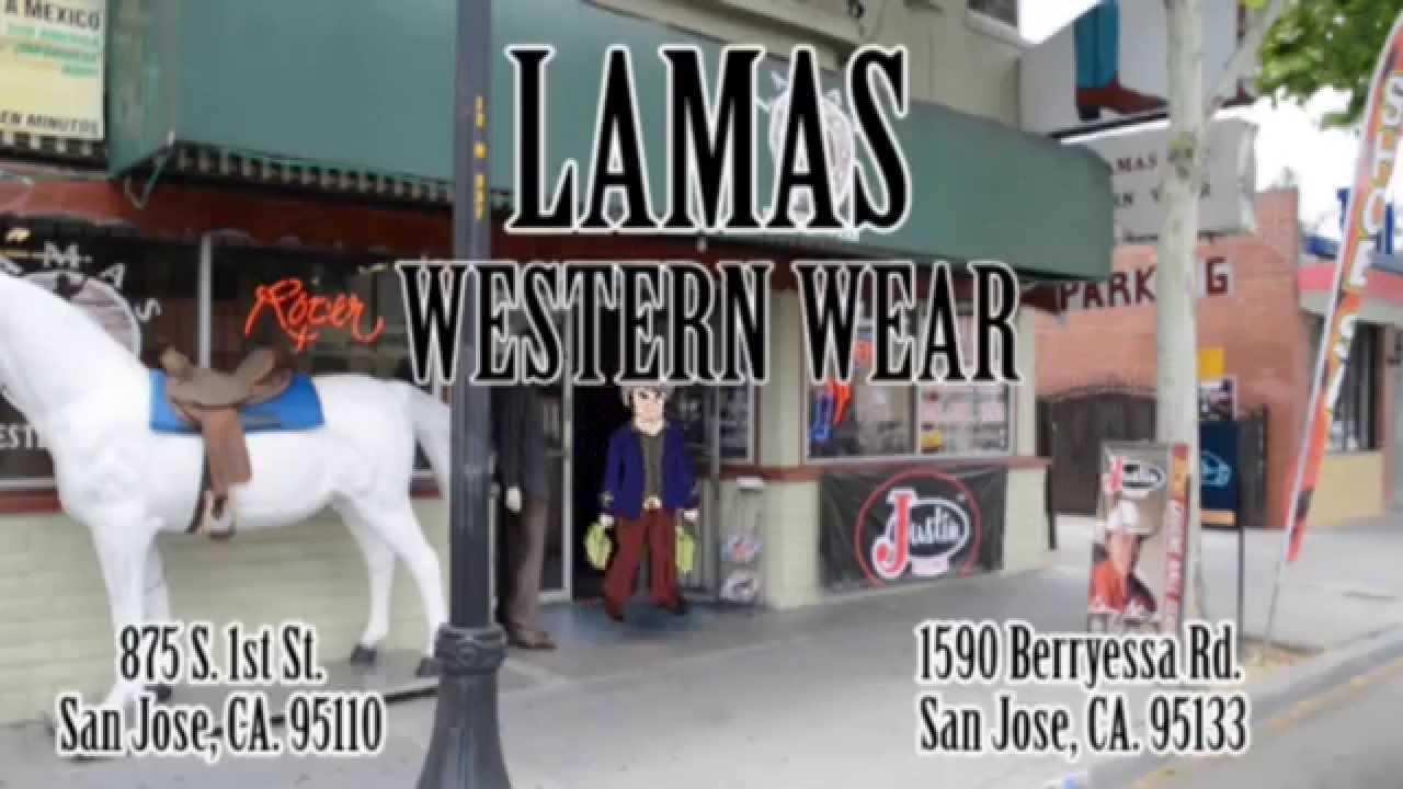 Lamas Western Wear - YouTube fba9d8a9f91