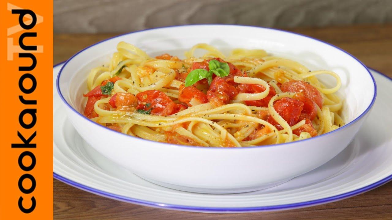 Linguine alla campagnola ricette primi piatti freschi for Ricette primi piatti originali