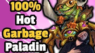 100% HotGarbage Mech Paladin (Part 2) - Hearthstone Descent Of Dragons