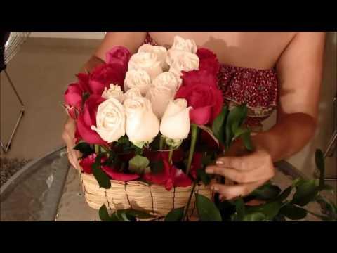 Arreglo Floral En Caja Para Mujer