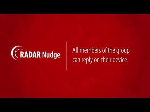 RADAR Nudge: Create Group Conversation