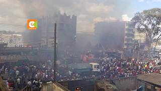 Fire guts down houses in Mathare